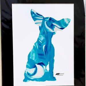Chihuahua sillhouete