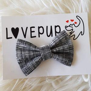 Monochrome bow tie