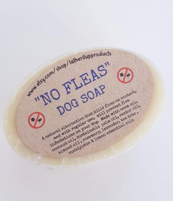 No Fleas Dog Soap