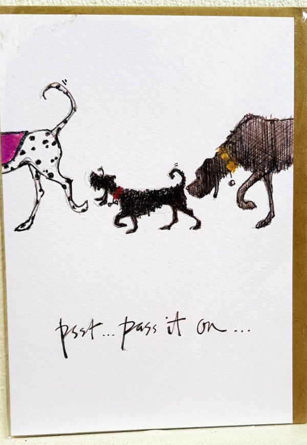 Stanley Philpot card - Psst...pass it on...