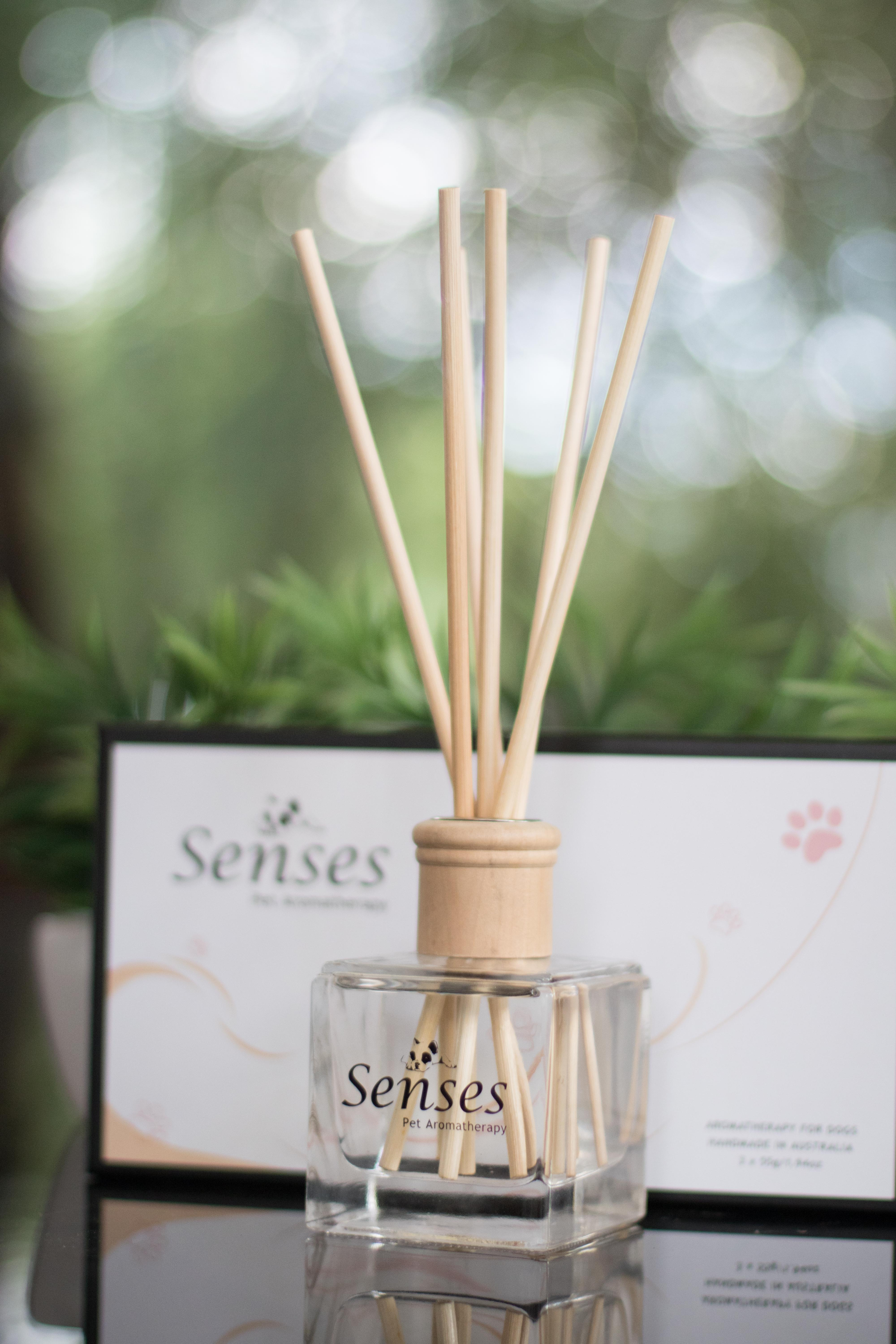 Senses Pet Aromatherapy Reed Diffuser Gemma And Ollie